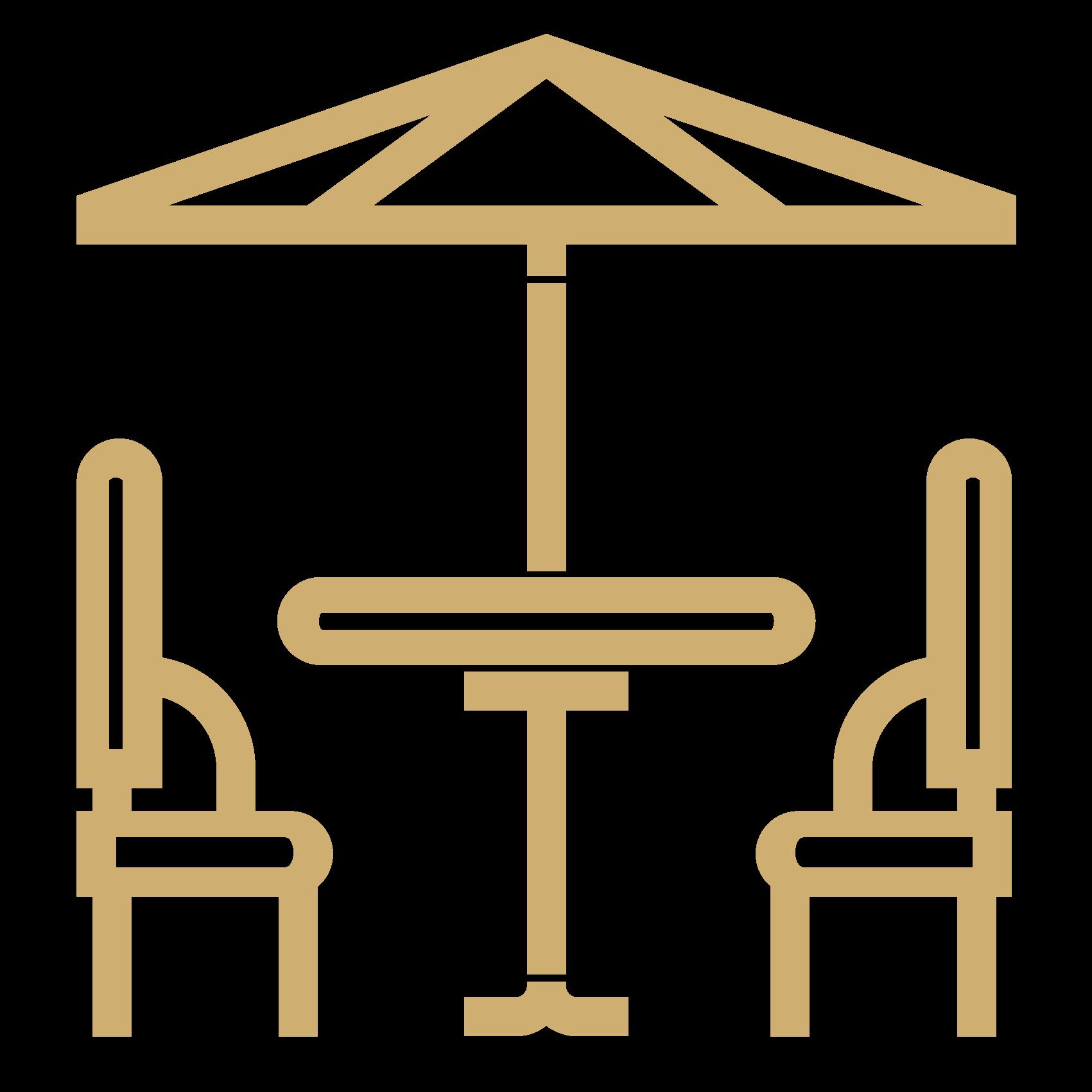 Terraza. Alojamientos turísticos Cardona